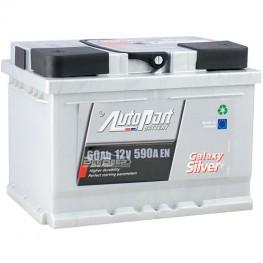 Аккумулятор автомобильный AutoPart Galaxy Silver 60Ah R+