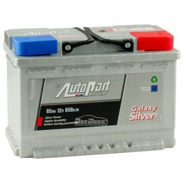 Аккумулятор автомобильный AutoPart Galaxy Silver 85Ah R+