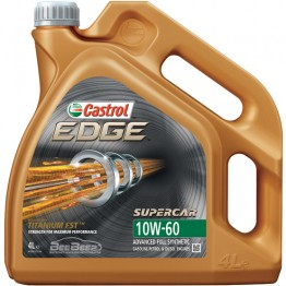Моторное масло Castrol EDGE 10w-60 Supercar Titanium FST 4 л