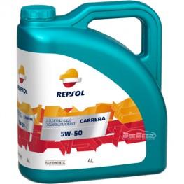 Моторное масло Repsol Carrera 5w-50 5л