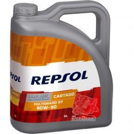 Трансмиссионное масло Repsol Cartago EP Multigrado 80w-90 5л