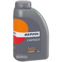 Трансмиссионное масло Repsol Cartago Traccion Integral 75w-90 1л