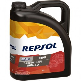 Моторное масло Repsol Diesel Turbo UHPD MID SAPS 10w-40 5л