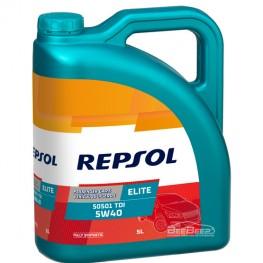 Моторное масло Repsol Elite 505.01 TDI 5w-40 5л