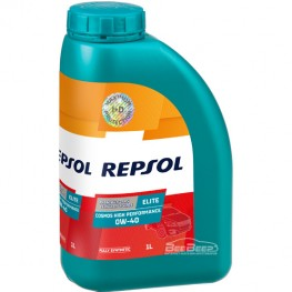Моторное масло Repsol Elite Cosmos High Preformance 0w-40 1л
