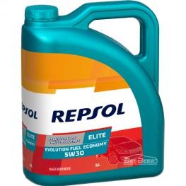 Моторное масло Repsol Elite Evolution Fuel Economy 5w-30 5л