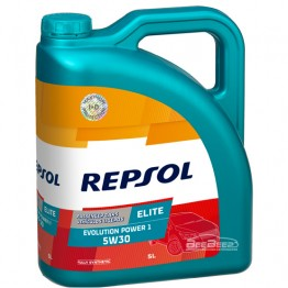 Моторное масло Repsol Elite Evolution Power 1 5w-30 5л