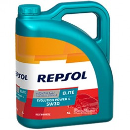 Моторное масло Repsol Elite Evolution Power 4 5w-30 5л