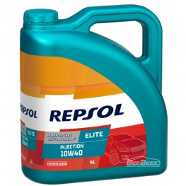 Моторное масло Repsol Elite Injection 10w-40 4л