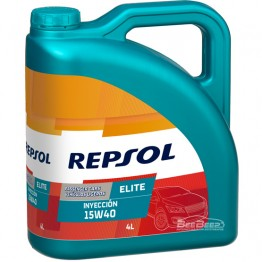 Моторное масло Repsol Elite Inyeccion 15w-40 4л