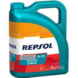 Моторное масло Repsol Elite Inyeccion 15w-40 5л