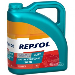 Моторное масло Repsol Elite Long Life 50700/50400 5w-30 4л