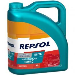 Моторное масло Repsol Elite Multivalvulas 10w-40 4л