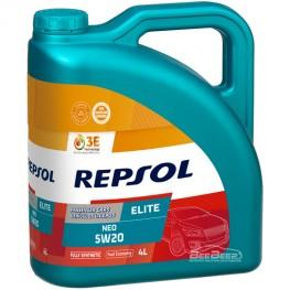 Моторное масло Repsol Elite Neo 5w-20 4л