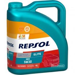 Моторное масло Repsol Elite Neo 5w-30 4л