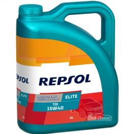Моторное масло Repsol Elite TDI 15w-40 5л