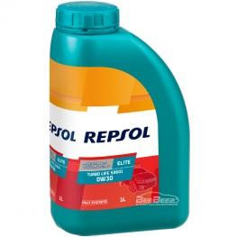 Моторное масло Repsol Elite Turbo Life 50601 0w-30 1л