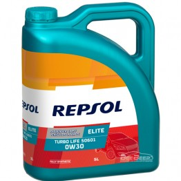 Моторное масло Repsol Elite Turbo Life 50601 0w-30 5л