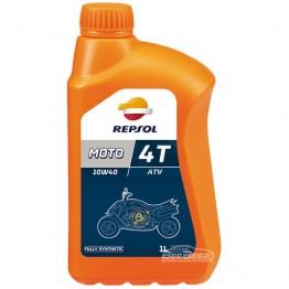 Моторное масло для квадроцикла Repsol Moto ATV 4T 10w-40 1л