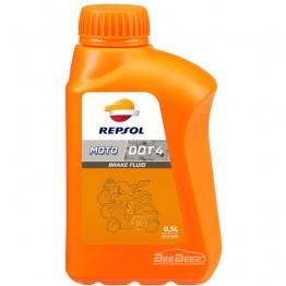 Тормозная жидкость Repsol Moto DOT 4 Brake Fluid 500мл