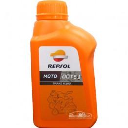 Тормозная жидкость Repsol Moto DOT 5.1 Brake Fluid 500мл
