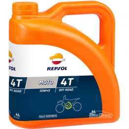 Моторное масло для мотоцикла Repsol Moto Off Road 4T 10w-40 4л