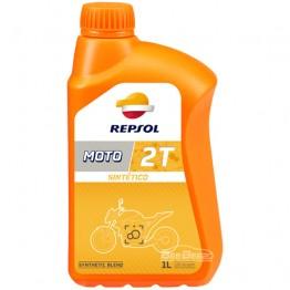 Моторное масло для скутера Repsol Moto Sintetico 2T 1 л