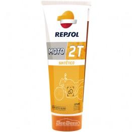 Моторное масло для скутера Repsol Moto Sintetico 2T 125 мл