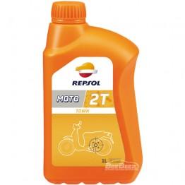 Моторное масло для скутера Repsol Moto Town 2T 1 л
