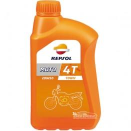 Моторное масло для мотоцикла Repsol Moto Town 4T 20w-50 1 л