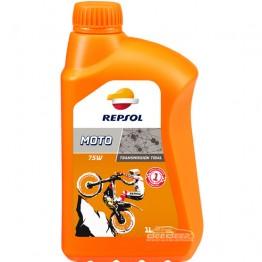 Трансмиссионное масло Repsol Moto Transmissions Trial 75W 1л