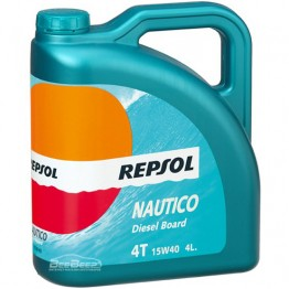 Масло для лодки Repsol Nautico Diesel Board 4T 15w-40 4л