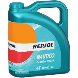 Масло для лодки Repsol Nautico Gasoline Board 4T 10w-40 4л