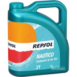 Масло для лодки Repsol Nautico Outboard & Jet Ski 2T 4л