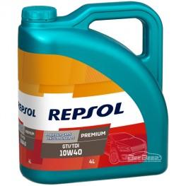 Моторное масло Repsol Premium GTI/TDI 10w-40 4л