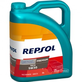 Моторное масло Repsol Premium Tech 5w-30 5л