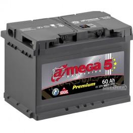 Акумулятор автомобільний A-Mega Premium 6СТ-60-Аз R+