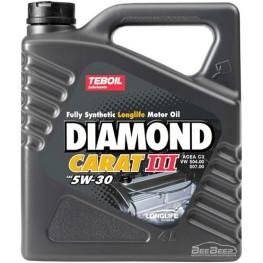 Моторное масло Teboil Diamond Carat III 5W-30 4 л