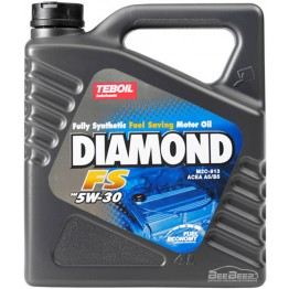 Моторное масло Teboil Diamond FS 5W-30 4 л