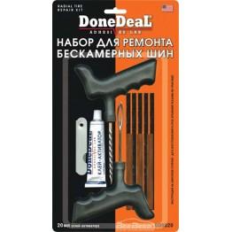 Набор для ремонта бескамерных шин DoneDeal Radial Tire Repair Kit DD0320 20 мл