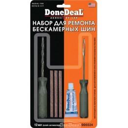 Набор для ремонта бескамерных шин DoneDeal Radial Tire Repair Kit DD0324 12 мл