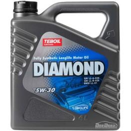 Моторное масло Teboil Diamond 5W-30 4 л