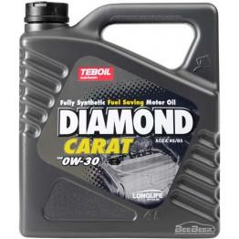 Моторна олива Teboil Diamond Carat 0W-30 4 л