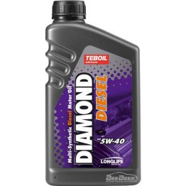 Моторное масло Teboil Diamond Diesel 5W-40 1 л