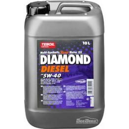 Моторное масло Teboil Diamond Diesel 5W-40 10 л