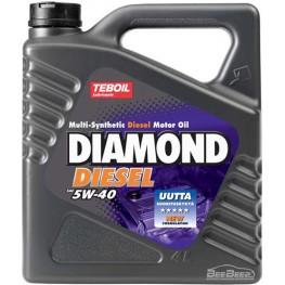 Моторное масло Teboil Diamond Diesel 5W-40 4 л
