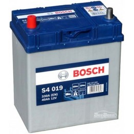 Аккумулятор автомобильный Bosch S4 Silver Asia 40Ah (0 092 S40 190)