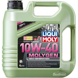 Моторное масло Liqui Moly Molygen New Generation 10w-40 9060 4 л