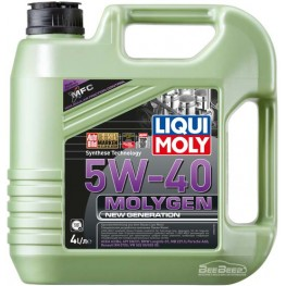 Моторное масло Liqui Moly Molygen New Generation 5w-40 9054 4 л