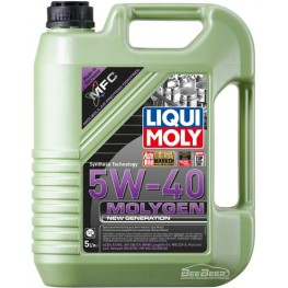 Моторное масло Liqui Moly Molygen New Generation 5w-40 9055 5 л